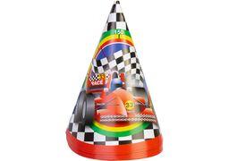 Набір з 6 ковпаків на голову із гумовою стрічкою Racing, висота 15,24 см MX20073 (1)