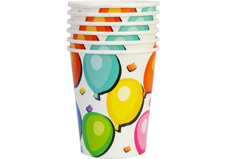 Набор из 6 стаканов бумажных Balloons, 270 мл MX44055 (1)
