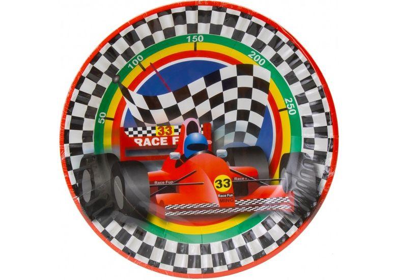 Набор тарелок бумажных Racing, диаметр 17,78 см MX44373 (1)