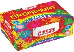 Гуаш пальчикова 6 кольорів по 40 мл MX60161 (1/7)