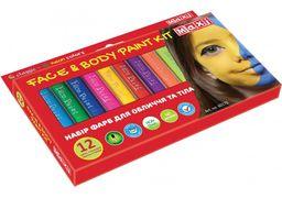 Набір фарб для обличчя та тіла у формі олівця, 12 кольорів MX60175 (1)