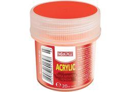 Акрил для декору матовий, 20 мл, червоний MX60179-03 (1)