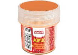Акрил для декору матовий, 20 мл, помаранчевий MX60179-06 (1)