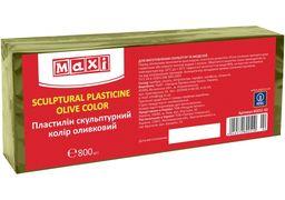 Пластилін скульптурний, 800 г, оливковий MX60251-02 (1)