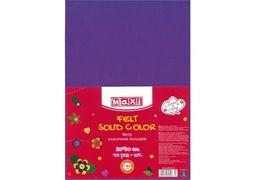 Фетр листковий (поліестер), 20х30см, 180г/м2, фіолетовий MX61622-12 (10)
