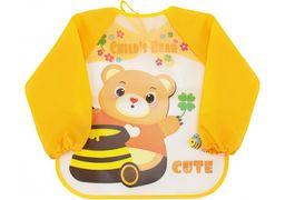 Фартух для дитячої творчості жовтий, 35 x 40 см MX61652 (1)