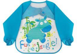 Фартух для дитячої творчості блакитний, 35 x 40 см MX61653 (1)