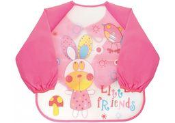 Фартух для дитячої творчості рожевий, 35 x 40 см MX61655 (1)