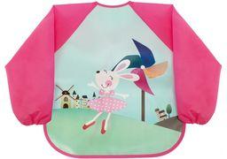 Фартух для дитячої творчості пурпурний, 35 x 40 см MX61657 (1)