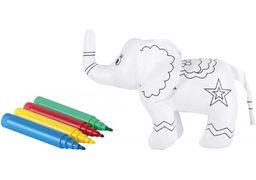 Набір: виріб для розфарбовування+4 фломастери Слоненя MX63020 (1)