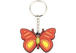 Брелок на ланцюжку гумовий Метелик MX63038 (1)