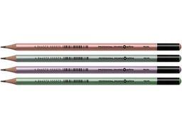 Олівець чорнографітний Optima PEARL HB корпус асорті, загострений O15537 (12)