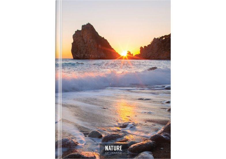 Блокнот Nature of Ukraine: море, А4, тверда обкл., 96 арк., клітинка O20378-10 (5)