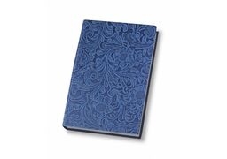 Діловий записник А5, Lady, тверда обкладинка, кремовий нелінований блок, блакитний O20815-11 (1)