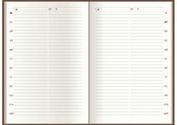 Щоденник датований 2021, NEBRASKA , бузковий, А5, обкладинка без поролона O25233-12 (1)