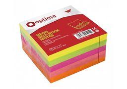 Стікери Optima, 75x75, 4 кольори, 400 арк. O25515 (6)