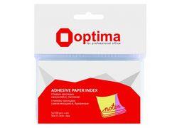 Стікери-закладки Optima, 50x15, 5 кольорів,500 шт. O25516 (12)