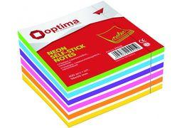 Стікери Optima, 50х50, 5 кольорів, 250 арк. O25517 (12)