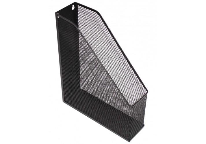 Лоток вертикальний Optima, чорний, металевий O36309-01 (1)