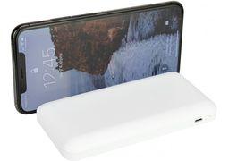 Мобільна батарея (Power Bank) Optima 4100, 10 000 mAh, 2*USB output, 5V 2.1A, колір білий O74100 (1)