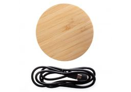 Безпровідний зарядний пристрій Optima 4116, 10 W output, колір натульної деревини O74116 (1)