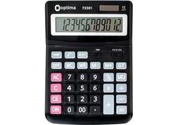 Калькулятор настільний бухгалтерський Optima О75501 O75501 (1)