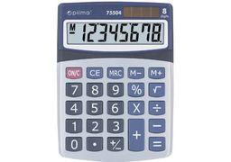 Калькулятор настільний Optima, 8 розрядів, розмір 160*118*41мм O75504 (1/10/40)