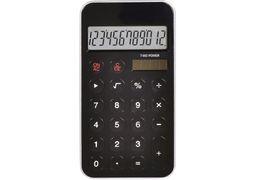 Калькулятор кишеньковий Optima 12 розрядів, розмір 115*58,5*9,6 мм, чорний O75528 (1)