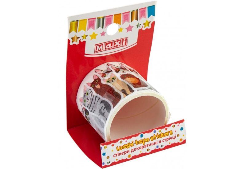 Ролл стикеров Котики в ленте на клейкой основе RH20071011 (1)