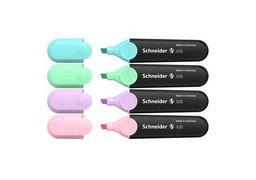 Набір маркерів текстовиділювачів SCHNEIDER JOB 1-4,5 мм, 4 пастельні кольори в блістері S115098 (1)