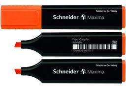 Маркер текстовиділювач SCHNEIDER MAXIMA 1-4,5 мм, помаранчевий S117906 (10)