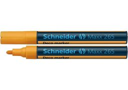 Маркер крейдовий SCHNEIDER MAXX 265 2-3 мм, помаранчевий S126506 (10)