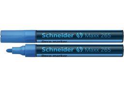 Маркер крейдовий SCHNEIDER MAXX 265 2-3 мм, блакитний S126510 (10)