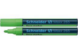 Маркер крейдовий SCHNEIDER MAXX 265 2-3 мм, світло-зелений S126511 (10)