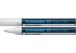 Маркер крейдовий SCHNEIDER MAXX 265 2-3 мм, білий S126549 (10)