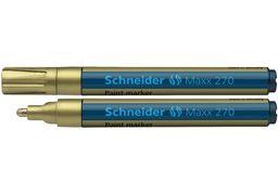 Маркер для декоративних та промислових робіт SCHNEIDER MAXX 270 2-3 мм, золотий S127053 (10)