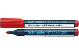 Маркер для дошок та фліпчартів SCHNEIDER MAXX 290 2-3 мм, червоний S129002 (10)