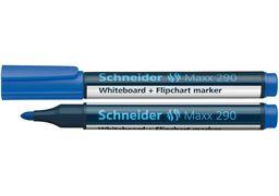 Маркер для дошок та фліпчартів SCHNEIDER MAXX 290 2-3 мм, синій S129003 (10)