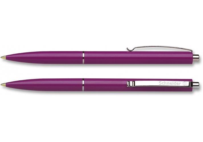 Ручка шариковая автоматическая SCHNEIDER SUPRIMO, пишет зеленым S135604 (20)