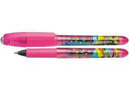 Чорнильний ролер (без чорнильного патрона) Schneider ZIPPI. Колір корпусу рожевий. S187523 (5/500)