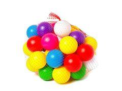 BAMSIC Набір дитячий Кульки малі 40 шт., диаметр 7 см, вакуум