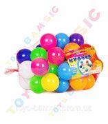 BAMSIC Кульки малі - 50 шт. в сітці,  диаметр 6 см, вакуумі