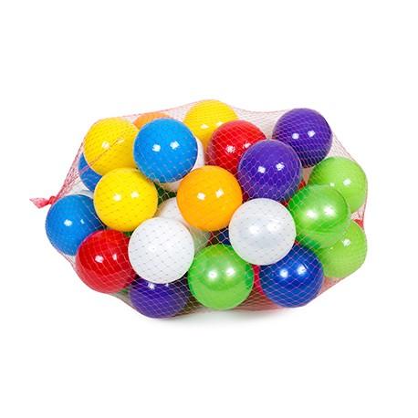 BAMSIC Кульки - 60шт. в сітці,  диаметр 8см