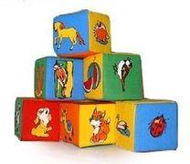 Розумна Iграшка Набор кубиков. 6 Животный мир