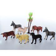 Животные домашние, 6 шт, от 8 см, в кульке 26-21-4 см