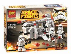 Конструктор BELA SPACE FIGHTS, 141 дет., в коробке 24*17*4,5 см