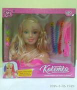 Кукла, голова для причесок, 19 см, аксессуары, 2 вида, без косметики, в коробке 27-25,5-11,5 см