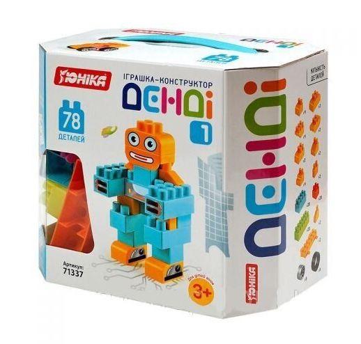Іграшка Конструктор ДЕНДІ 1 (78 дет.), в коробці