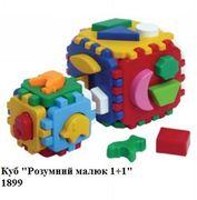 Куб Розумний малюк 1+1, арт. 1899 (шт.)