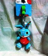 Игрушка-подвеска, с прищепкой MioobabyКролик-Брюс